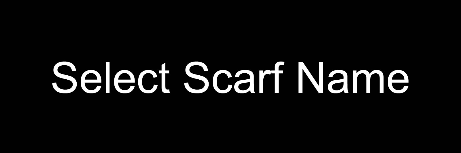 Selected 72x27 Scarves